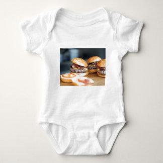 Hamburgueres Body Para Bebê