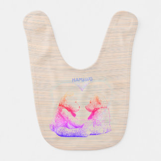 HAMbWG - babador do bebê - amor do urso de ursinho