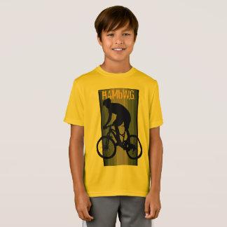 HAMbWG - camisa de T - laranja - cavaleiro da