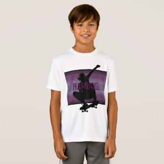 HAMbWG - camisa de T - skater Amethyst