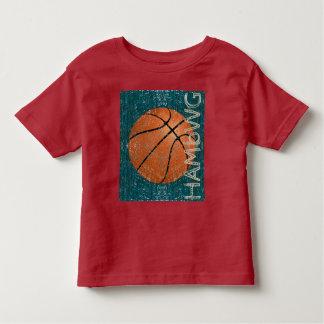 HAMbWG - camisa do T da criança - basquetebol