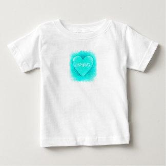 HAMbWG - camisa do T das crianças - Aqua