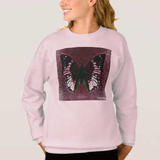 HAMbWG - camisa do T das crianças - borboleta da