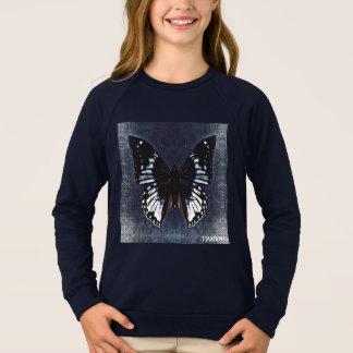 HAMbWG - camisa do T das crianças - borboleta do