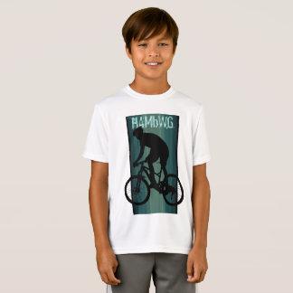 HAMbWG - camisa do T das crianças - cavaleiro da
