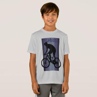 HAMbWG - camisa do T das crianças - cavaleiro roxo