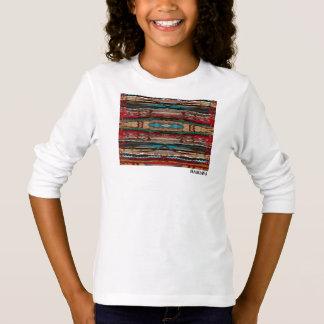 HAMbWG - camisa do T das crianças - design boémio