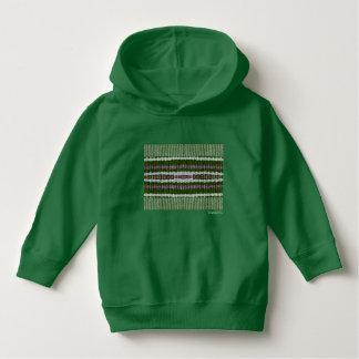 HAMbWG - camisa do T das crianças - verde do hippy