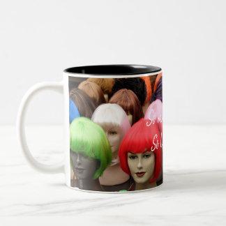 HAMbWG - caneca de café - perucas