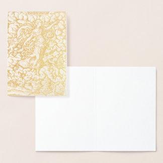 HAMbWG - cartão da folha de ouro - Virgil