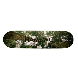 HAMbWG Dsgn - skate duro do bordo - floresta