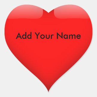HAMbWG - etiqueta - coração vermelho