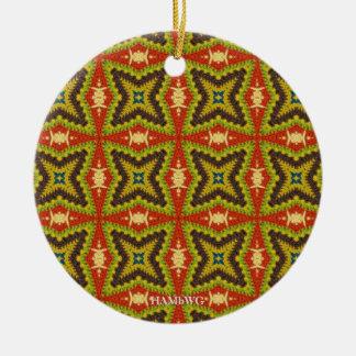 HAMbWG - lembrança redonda do ornamento da foto