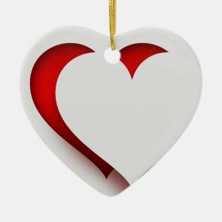 HAMbWG - ornamento - coração de 3 D -