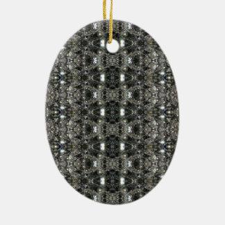HAMbWG - ornamento oval - diamantes