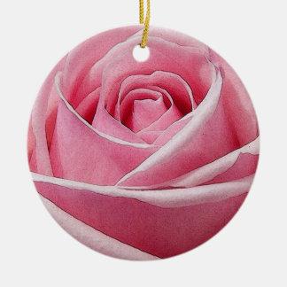 HAMbWG - ornamento - rosa pálido aumentou