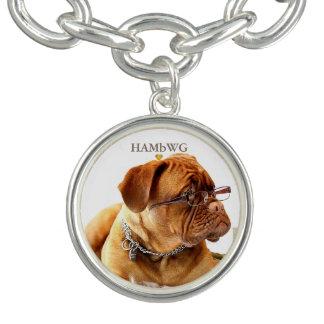 HAMbWG - prata ou jóia chapeada prata do encanto Bracente Com Charm