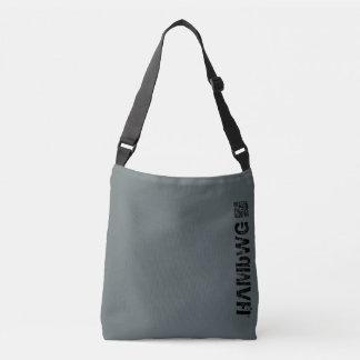 HAMbWG - sacola - tempestade w/QR & logotipo Bolsa Ajustável