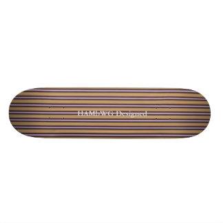 HAMbWG - skate - art deco violeta da cor do ouro