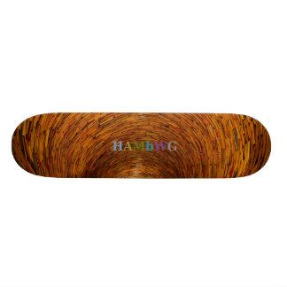 HAMbWG - skate do bordo da folhosa - funil