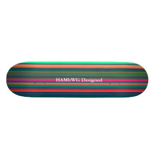 HAMbWG - skates - listras brilhantes
