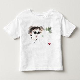 HAMbWG - t-shirt fino do jérsei - vidros de w do Camiseta Infantil
