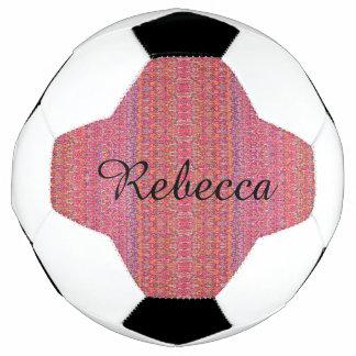 HAMbyWG - bola de futebol - laranja cor-de-rosa
