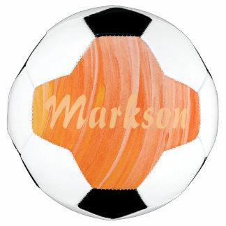 HAMbyWG - bola de futebol - redemoinho alaranjado