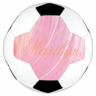 HAMbyWG - bola de futebol - redemoinho cor-de-rosa