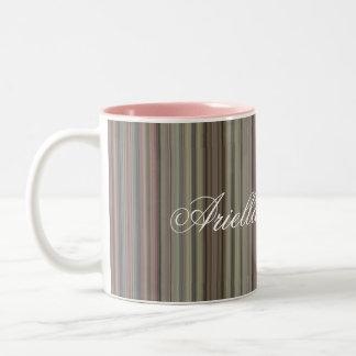 HAMbyWG - caneca de café - listras malva