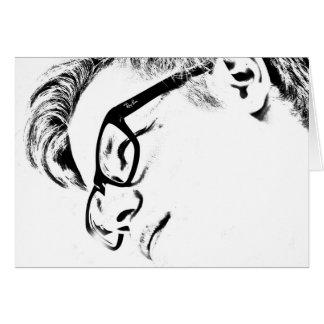 HAMbyWG - cartão - homem do hipster