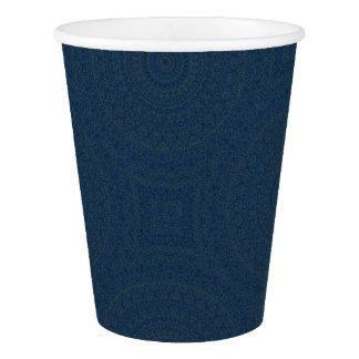 HAMbyWG - copo de papel, 9 onças - índigo boémio