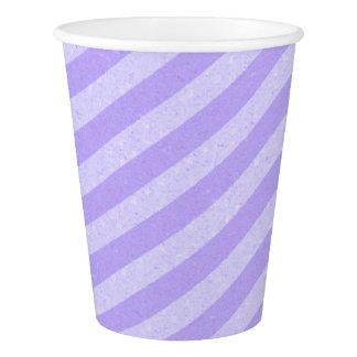 HAMbyWG - copo de papel - listra do Lilac do Lilac