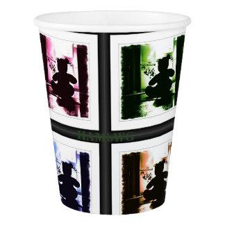 HAMbyWG - copo de papel - ursinho gótico