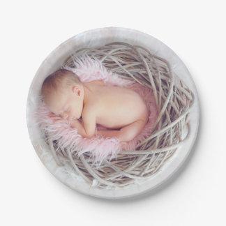 HAMbyWG - placas de papel - bebê do assentamento Prato De Papel
