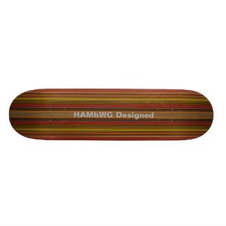 HAMbyWG projetou - skate - o outono