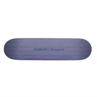 HAMbyWG - skate - olhar da tapeçaria da lavanda