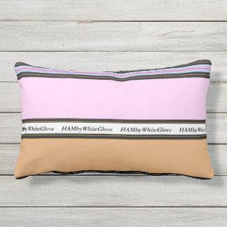 HAMbyWG - travesseiro lombar - rosa & bege Almofada Lombar