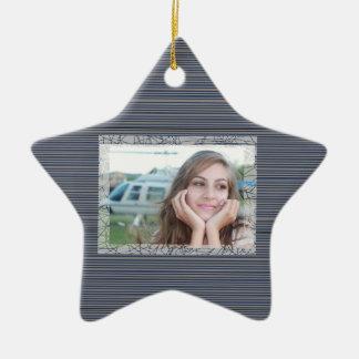 HAMbyWhiteGlove - ornamento da foto da lembrança