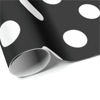HAMbyWhiteGlove - papel de embrulho - bolinhas no