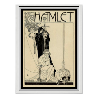 Hamlet William H. Robinson Poster 12 x 16