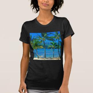 Hammock Kauai Havaí da praia Camisetas