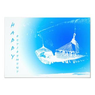 Hammock - partido de aposentadoria feliz 01 convite 8.89 x 12.7cm