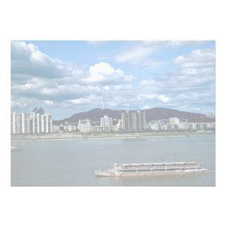 Han River um navio da excursão Convites Personalizado