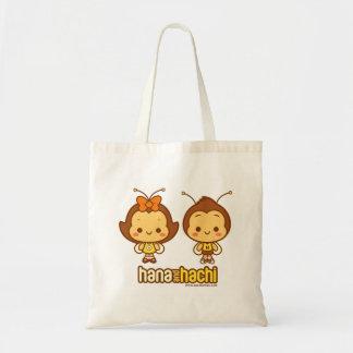 Hana e sacola de Hachi Bolsa Tote