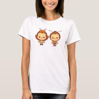 Hana & t-shirt de Hachi Camiseta