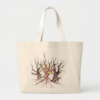 Hanbag tribal da árvore bolsa tote grande