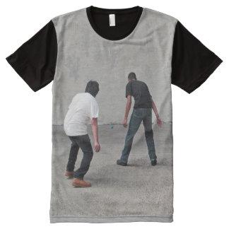Handball Camisetas Com Impressão Frontal Completa