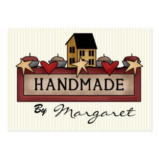 Handmade/artesanatos/confecção de malhas/que cartão de visita grande