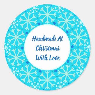Handmade no Natal com etiquetas do amor
